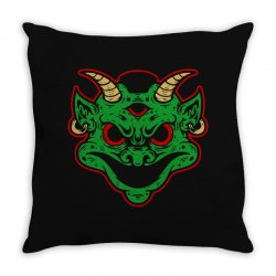 devils Throw Pillow | Artistshot