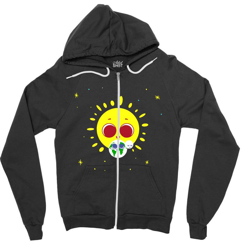 Earth Day Zipper Hoodie | Artistshot