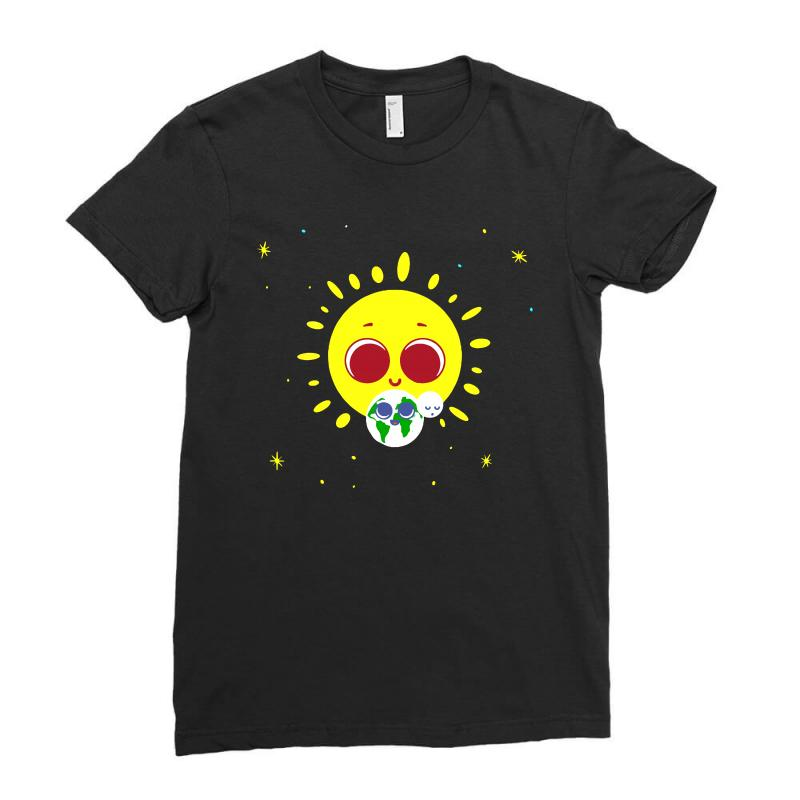 Earth Day Ladies Fitted T-shirt | Artistshot