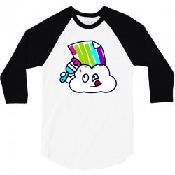 fake rainbow 3/4 Sleeve Shirt | Artistshot