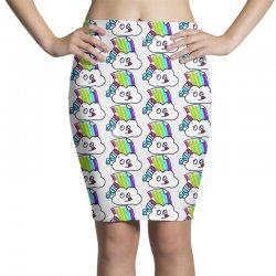 fake rainbow Pencil Skirts | Artistshot