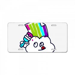 fake rainbow License Plate | Artistshot