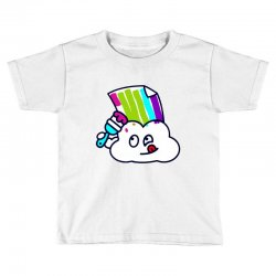 fake rainbow Toddler T-shirt | Artistshot