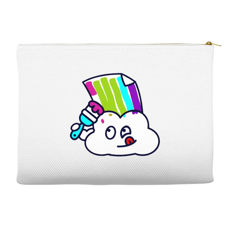 Fake Rainbow Accessory Pouches | Artistshot