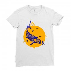 fish cracker Ladies Fitted T-Shirt | Artistshot