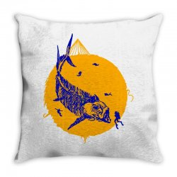 fish cracker Throw Pillow | Artistshot