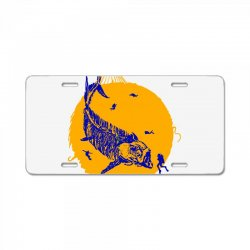 fish cracker License Plate | Artistshot