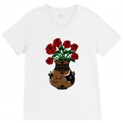 flower and vase V-Neck Tee | Artistshot
