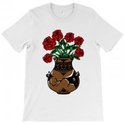 flower and vase T-Shirt | Artistshot
