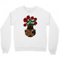 flower and vase Crewneck Sweatshirt | Artistshot