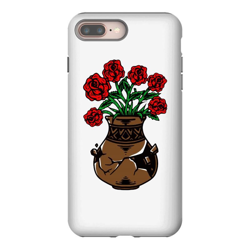 Flower And Vase Iphone 8 Plus Case | Artistshot