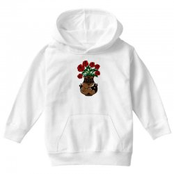 flower and vase Youth Hoodie | Artistshot