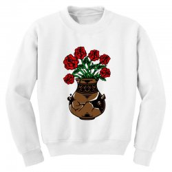 flower and vase Youth Sweatshirt | Artistshot