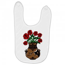 flower and vase Baby Bibs | Artistshot