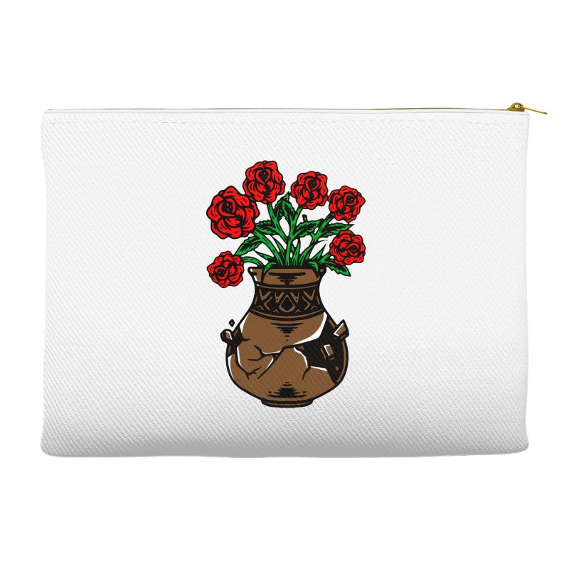 Flower And Vase Accessory Pouches | Artistshot