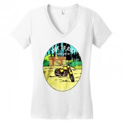 garage Women's V-Neck T-Shirt | Artistshot