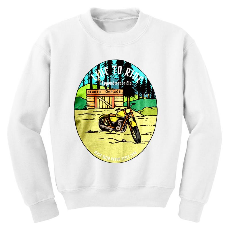 Garage Youth Sweatshirt | Artistshot