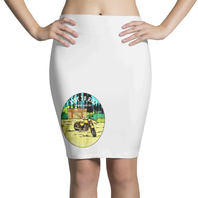 Garage Pencil Skirts | Artistshot