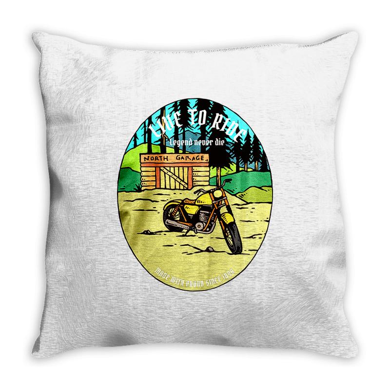 Garage Throw Pillow | Artistshot
