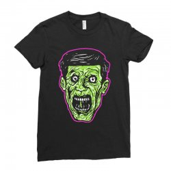 green zombie Ladies Fitted T-Shirt | Artistshot