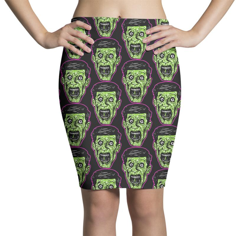 Green Zombie Pencil Skirts | Artistshot