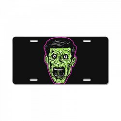 green zombie License Plate | Artistshot