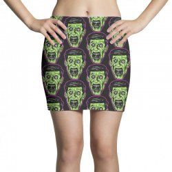 green zombie Mini Skirts | Artistshot