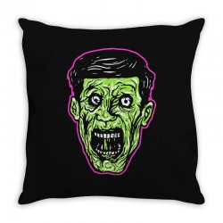 green zombie Throw Pillow | Artistshot