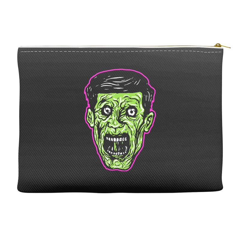 Green Zombie Accessory Pouches | Artistshot