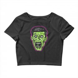 green zombie Crop Top | Artistshot