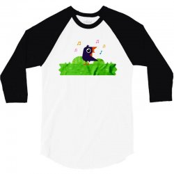 happy bird 3/4 Sleeve Shirt | Artistshot