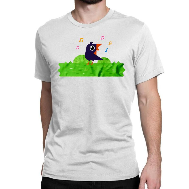 Happy Bird Classic T-shirt | Artistshot