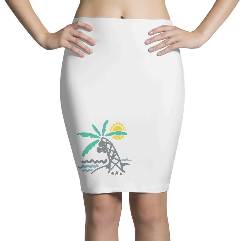 Hello Summer Pencil Skirts | Artistshot