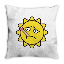 high fever Throw Pillow | Artistshot