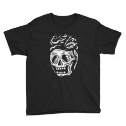 apple skull Youth Tee | Artistshot