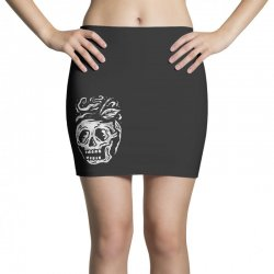 apple skull Mini Skirts | Artistshot