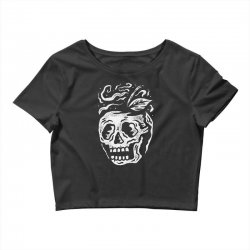 apple skull Crop Top | Artistshot