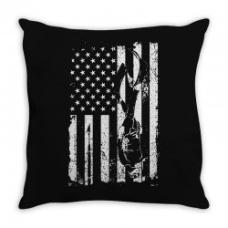 american diver Throw Pillow | Artistshot