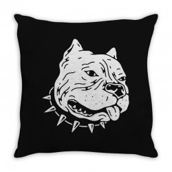 american bully Throw Pillow | Artistshot