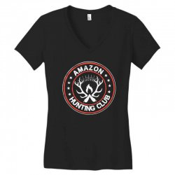 amazon hunter Women's V-Neck T-Shirt | Artistshot