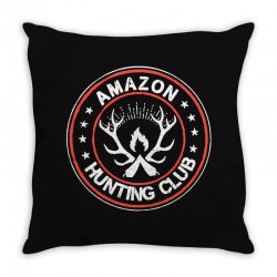 amazon hunter Throw Pillow | Artistshot