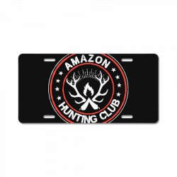 amazon hunter License Plate | Artistshot