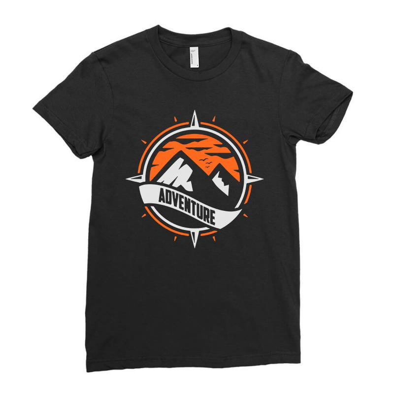 Adventure Ladies Fitted T-shirt | Artistshot