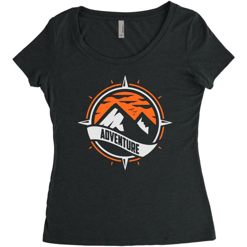 Adventure Women's Triblend Scoop T-shirt | Artistshot