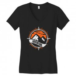 adventure Women's V-Neck T-Shirt | Artistshot