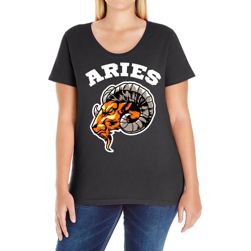 Aries Ladies Curvy T-shirt | Artistshot