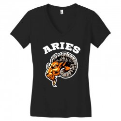 aries Women's V-Neck T-Shirt | Artistshot