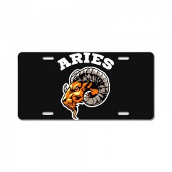 aries License Plate | Artistshot