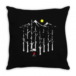 be alone Throw Pillow | Artistshot