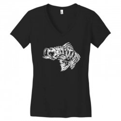 bass Women's V-Neck T-Shirt | Artistshot